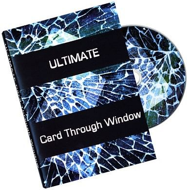 Ultimate Card Through Window DVD - Eric James - magic