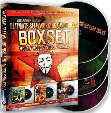 Ultimate Self Working Card Tricks Triple Volume Box Set - magic