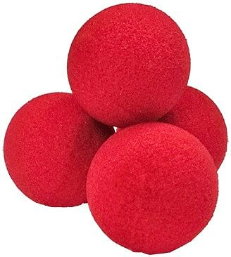 "1.5"" Ultra Soft Sponge Balls (Yellow) - magic"