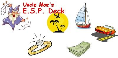 Uncle Moe's ESP Cards - magic
