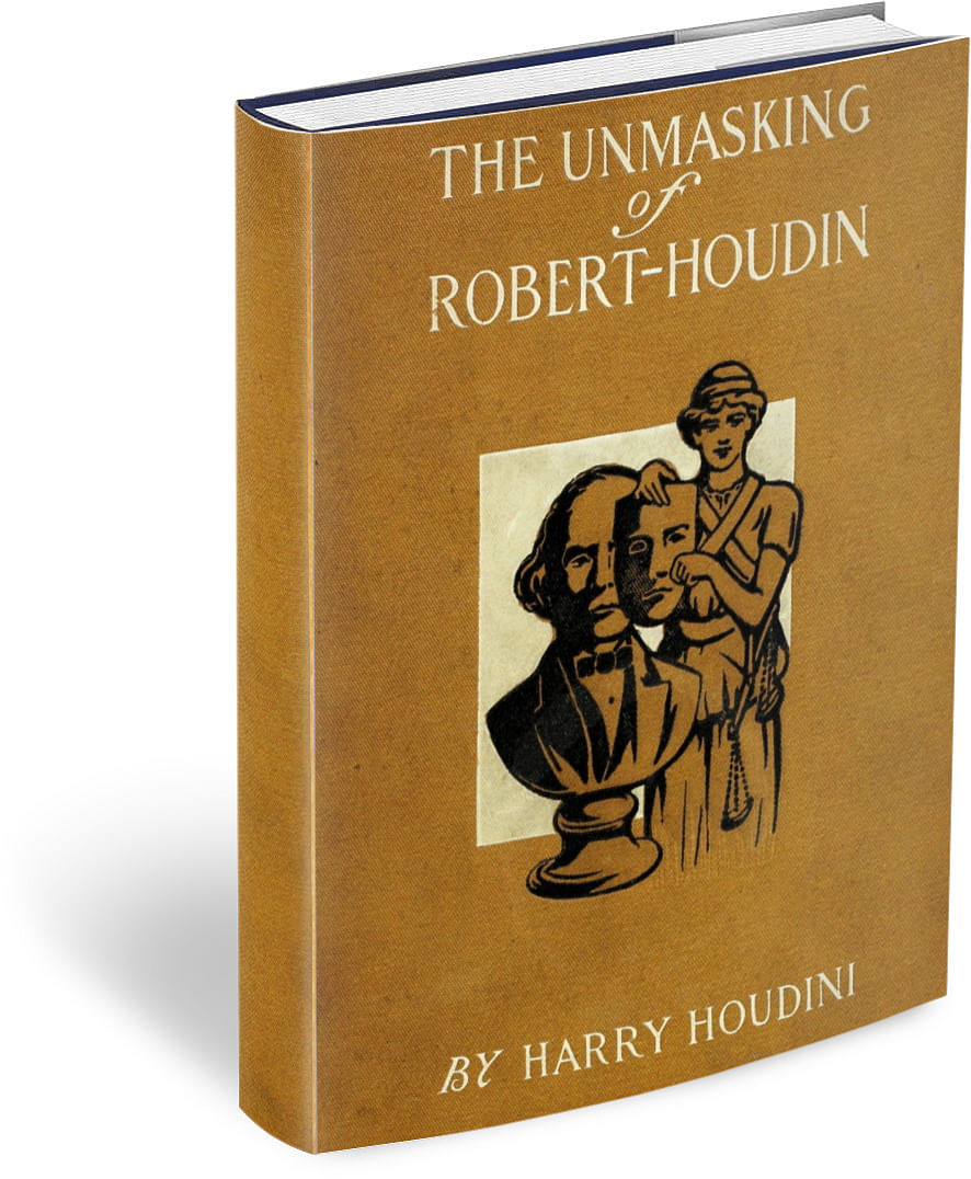 Unmasking of Robert Houdin - magic
