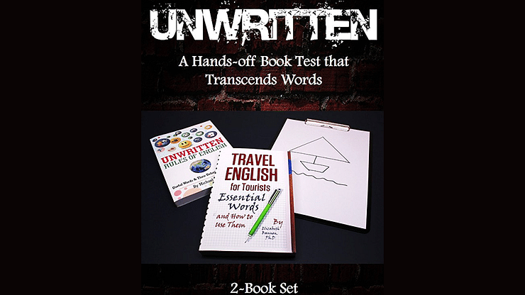 Unwritten: A Hands-off Book Test that Transcends Words - magic