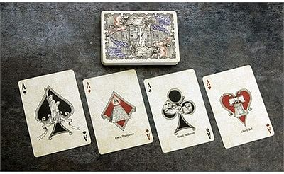 US President Playing Cards (Red)