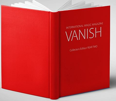 VANISH Magic Magazine (Year Two) Collector's Edition