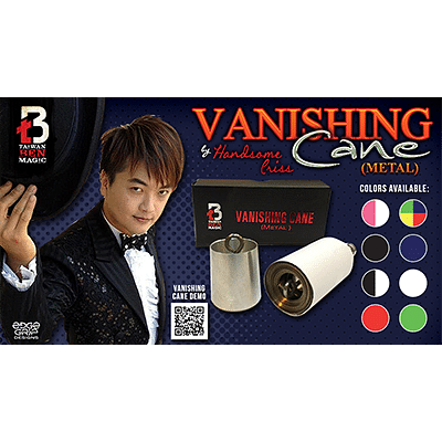 Vanishing Cane (Metal) - magic
