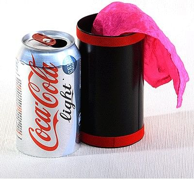 Vanishing Diet Coke Can - magic