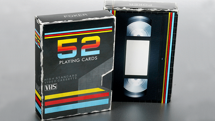 VHS Playing Cards - magic