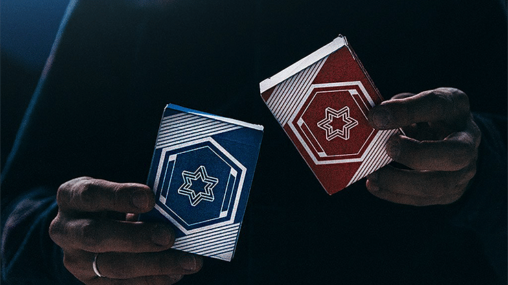 Vigor Playing Cards: Blue Edition - magic