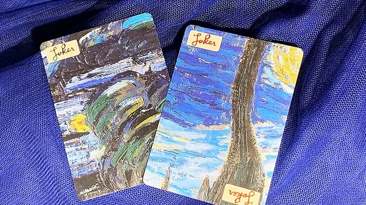 "Vincent van Gogh ""The Starry Night"" Playing Cards Puzzle"