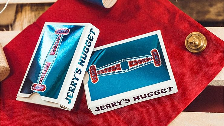Jerry's Nugget Playing Cards (Blue Foil - Collector's Edition)