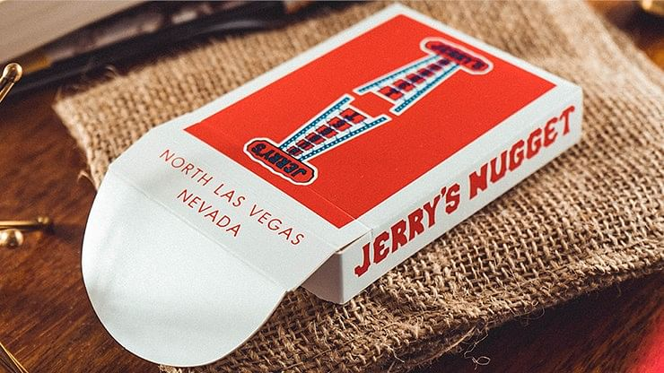 Jerry's Nugget Playing Cards (Vintage Feel) - magic