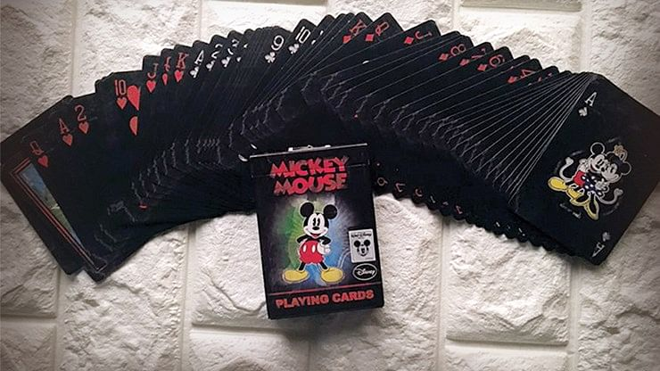 Vintage Mickey Mouse Playing Cards - magic