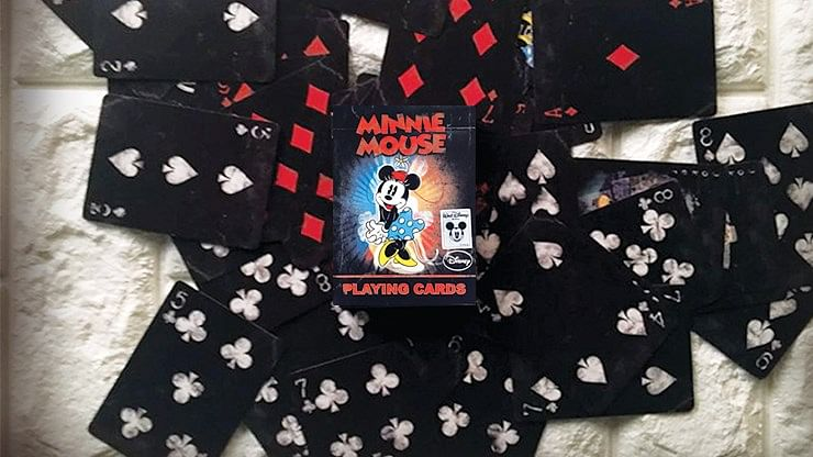 Vintage Minnie Mouse Playing Cards - magic
