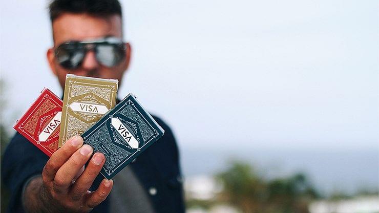 Visa Blue Playing Cards