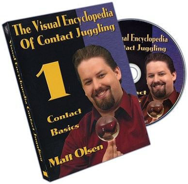 Visual Encyclopedia of Contact Juggling Volume 1 - magic