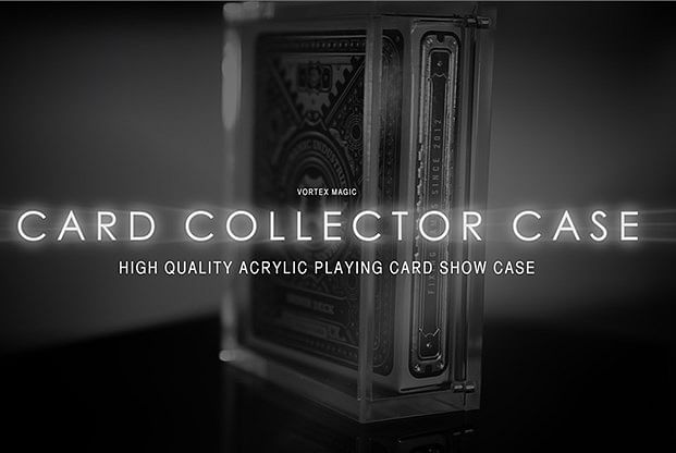 The Playing Card Collector Display Case - magic