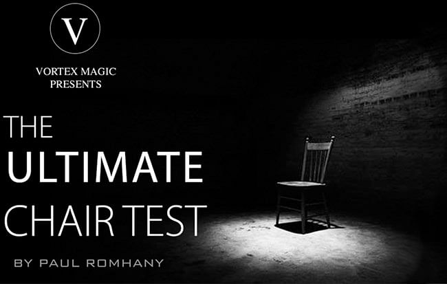 Vortex Magic Presents Ultimate Chair Test - magic