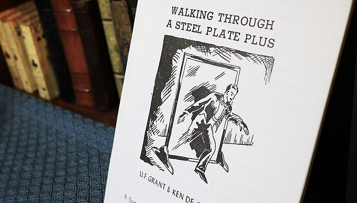 Walking Through a Steel Plate PLUS