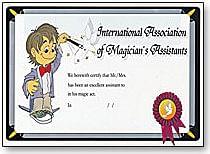 Wand to Diploma - magic
