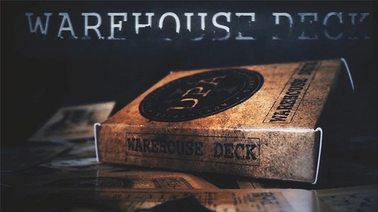 Warehouse Marked Playing Cards - magic