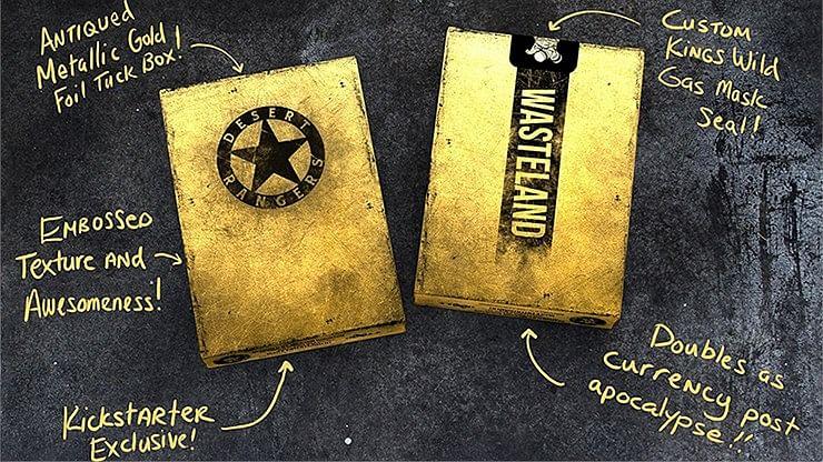 Wasteland Desert Ranger Edition Playing Cards
