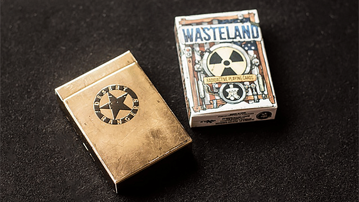 Wasteland Desert Ranger Edition Playing Cards - magic