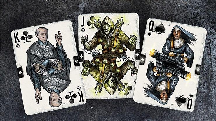 Wasteland Radio Active Edition Playing Cards