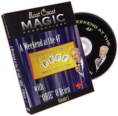 Weekend at the 4F w/ Obie O'Brien VOL. 1 - magic