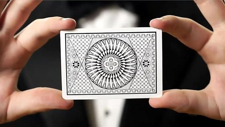 White Tally-Ho  Playing Cards (Circle Back)