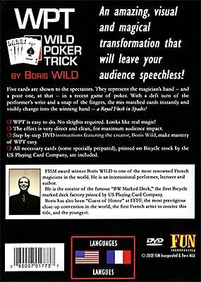 Wild Poker Trick
