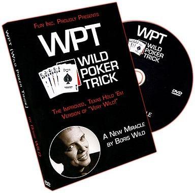Wild Poker Trick - magic
