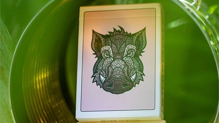 Wild Reserve: Pink Boar Playing Cards - magic