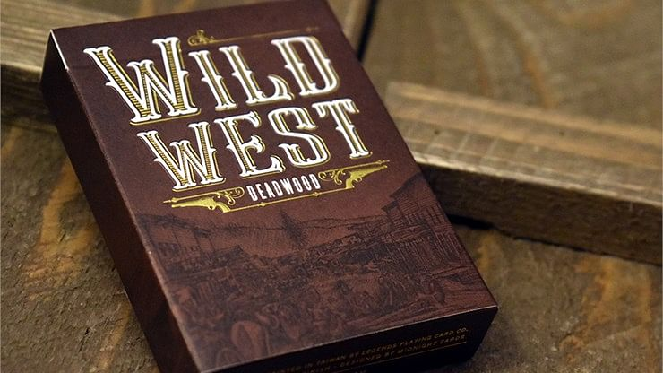 WILD WEST: Deadwood Playing Cards - magic