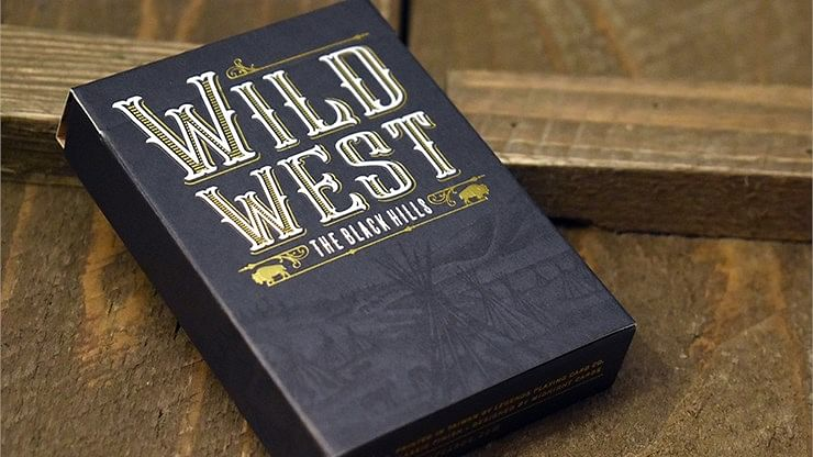 WILD WEST: The Black Hills Playing Cards - magic