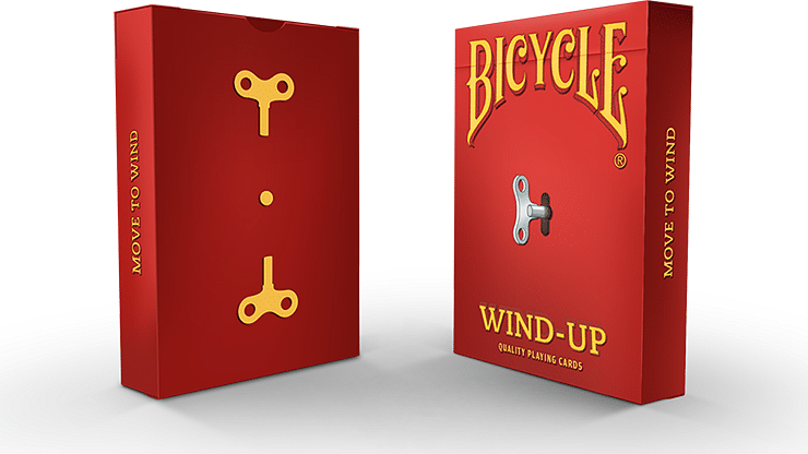 Wind-Up Playing Cards - magic