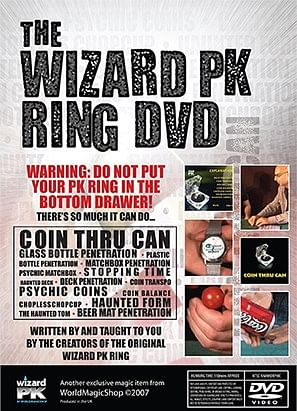 Wizard PK Ring DVD