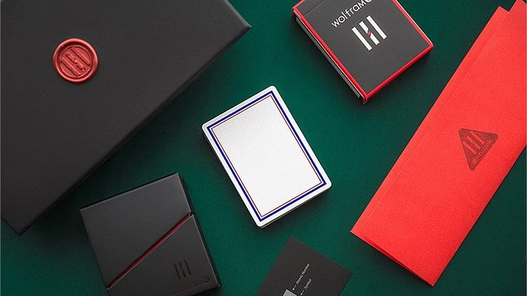 Wolfram V1 Playing Cards Collector's Set