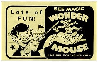 Wonder Mouse - magic