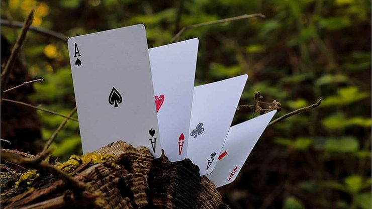 Wood Element Playing Cards