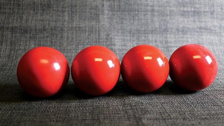 Wooden Billiard Balls
