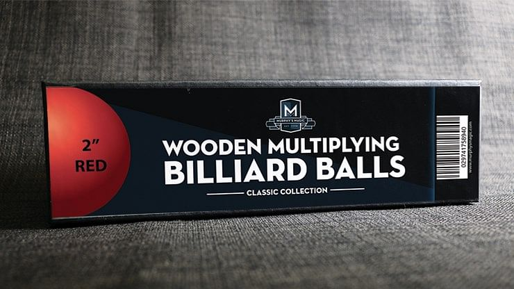 Wooden Billiard Balls - magic