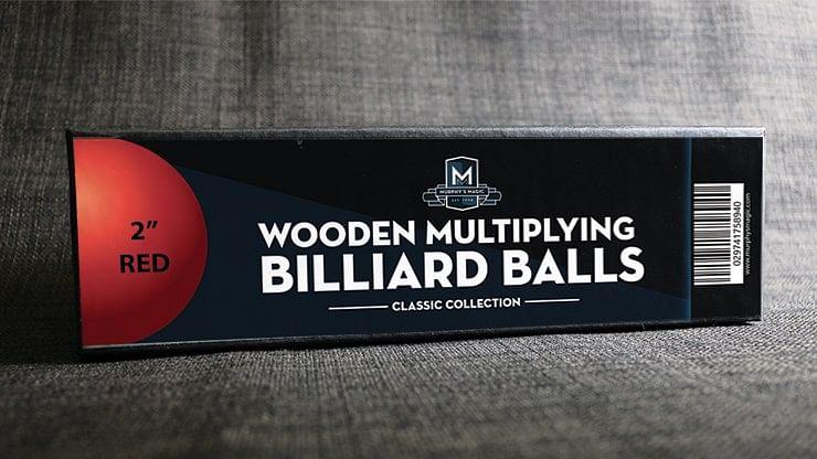 Wooden Billiard Balls - magic