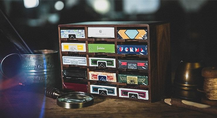 Wooden Playing Cards Cabinet - magic