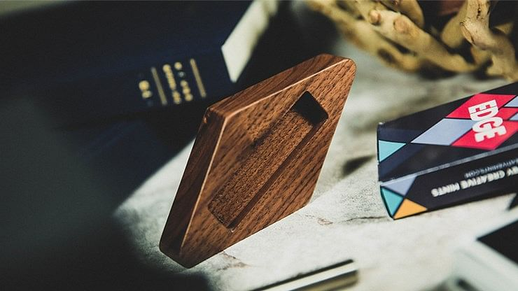Wooden Playing Card Display