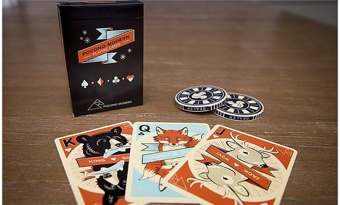Woodland Playing Cards - magic