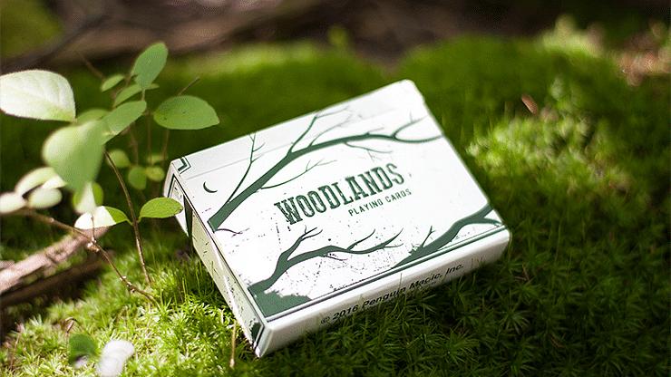 Woodlands Playing Cards - magic