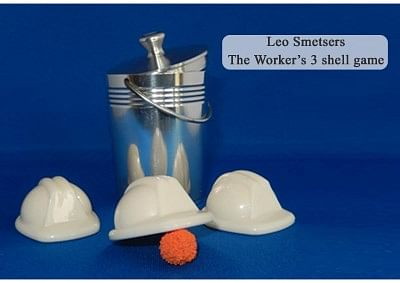Worker's Three Shell Game - magic