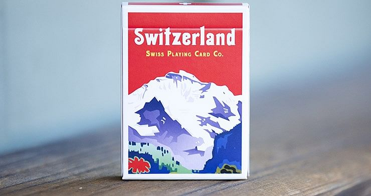 World Tour: Switzerland Playing Cards - magic