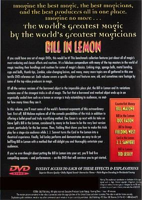 World's Greatest Magic - Bill In Lemon