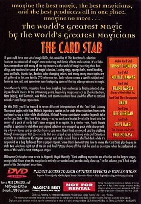 World's Greatest Magic - Card Stab